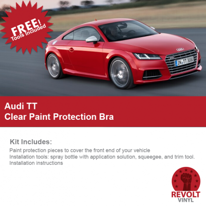 2016 – Audi TT PreCut Clear Paint Protection Bra Kit