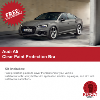 2018 Audi A5 Clear Paint Protection Kit – Full Bra