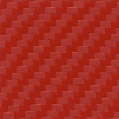 Orafol 975 Geranium Red Carbon Fiber CA305 Vinyl Wrap