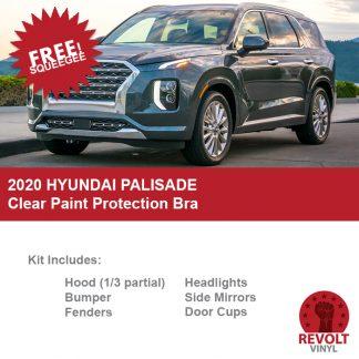 2020 Hyundai Palisade Pre Cut Clear Paint Protection Bra Kit