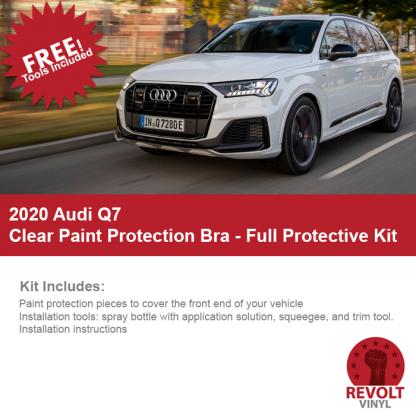 2020 Audi Q7 Clear Paint Protection Kit – Full Bra