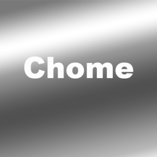 3M™ 2080 Chrome Vinyl Wrap Film